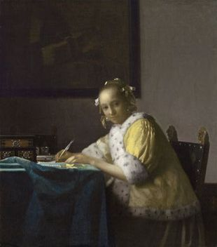 A_lady_writing_c_1665
