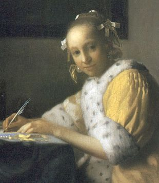 A_lady_writing2