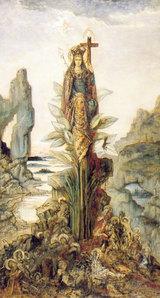 Moreau Fleur  Mystique 「神秘の花」 1890頃 ギュスターヴ・モロー美術館
